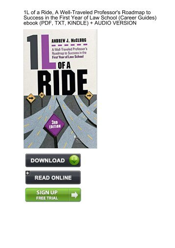 Download Well Traveled Professors Roadmap Success School ebook