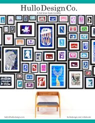 Hull Street Studio Catalog 2019