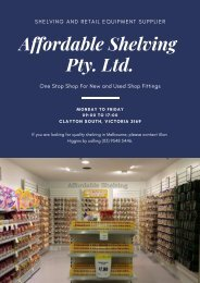 Why Retail Shelving is Important For your Business?