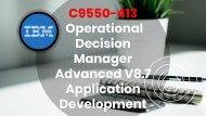 C9550-413 Exam Dumps Questions