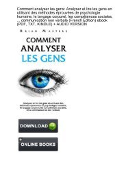 (FORTUNE) Comment analyser gens psychologie communication ebook eBook PDF