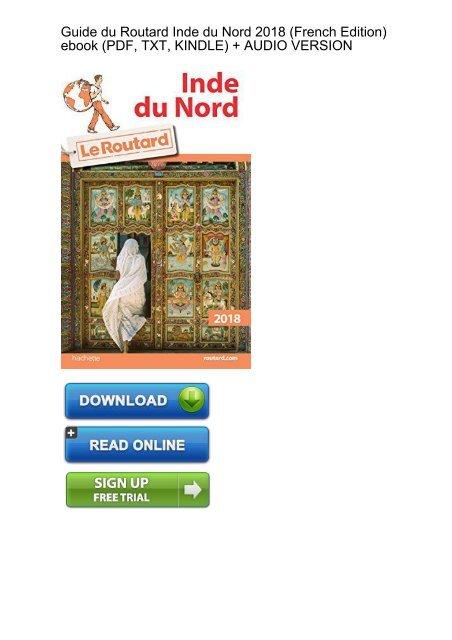 SECRET AGENDA) Guide Routard Inde Nord French ebook eBook PDF Download