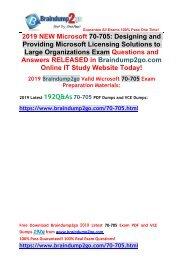 (2019-February-Version)New 70-705 PDF Dumps Free Download(Q111-Q121)