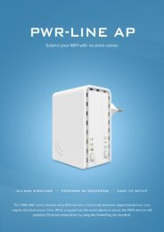 PWR line AP Mikrotik - mstream.com.ua