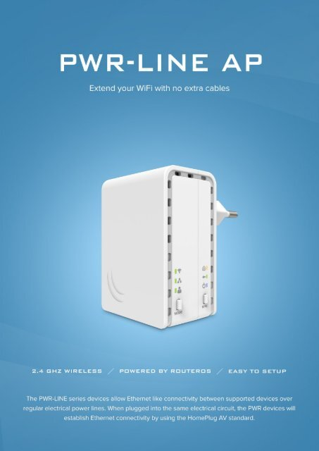 PWR line AP Mikrotik - mstream com ua
