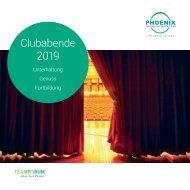 Clubabende 2019