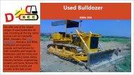 used bulldozers Caterpillar, BEML, Komatsu