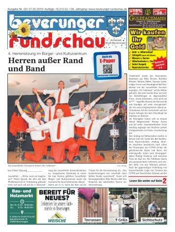 Beverunger Rundschau 2019 KW 09