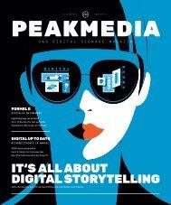 PEAKMEDIA - Das Digital Signage Magazin 2019
