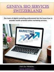 Geneva Seo Services Switzerland