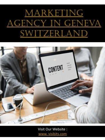 Marketing Agency In Geneva Switzerland