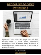 Marketing Agency In Geneva Switzerland - Page 5