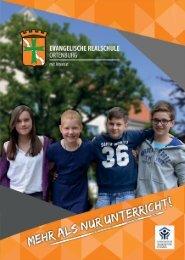 Evangelische Realschule Ortenburg Schulbroschüre