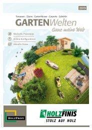 Holz Finis Gartenkatalog 2019