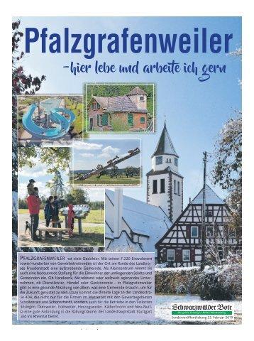 Pfalzgrafenweiler hier lebe und arbeite ich gerne