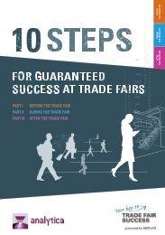 analytica 2020 // 10 steps for guaranteed success at trade fairs