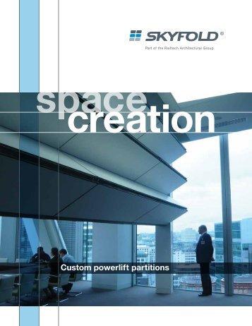 Custom powerlift partitions - Skyfold