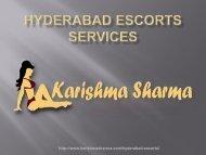 Distinctive Hyderabad Escorts Services