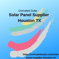 Solar Panel Supplier Houston TX