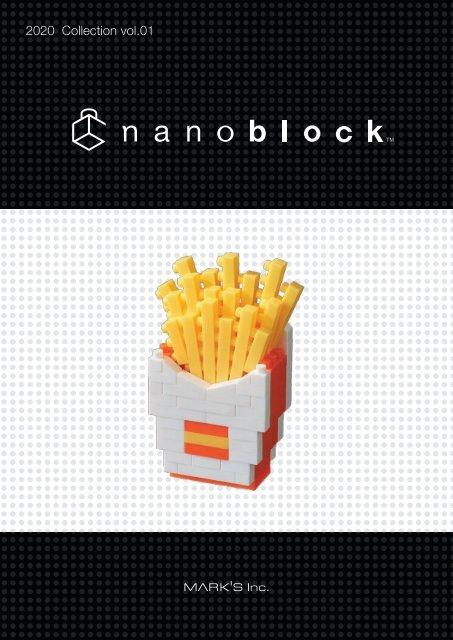 NEW NANOBLOCK BEER Food Series Nano Block Micro-Sized Building Blocks NBC-245