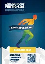 AUSBILDUNGSPLÄTZE - FERTIG - LOS | Stadt und Landkreis München 2019