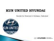 Hyundai Car Dealers in Hyderabad