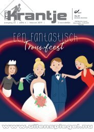 Krantje 45-4 Een fantastisch trouwfeest