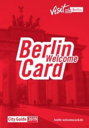 Berlin WelcomeCard Guide 2019