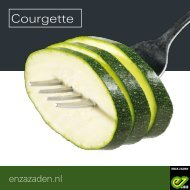 Leaflet Courgette 2019