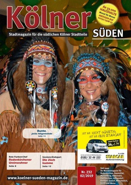 Kölner Süden Magazin Februar 2019
