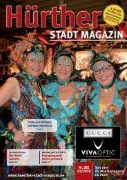 Hürther Stadt Magazin Februar 2019
