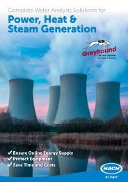 Hach Complete Water Analysis Power Heat Steam Generation Jan 2019 GH