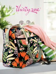 Thirty-One Spring & Summer Catalog 2019