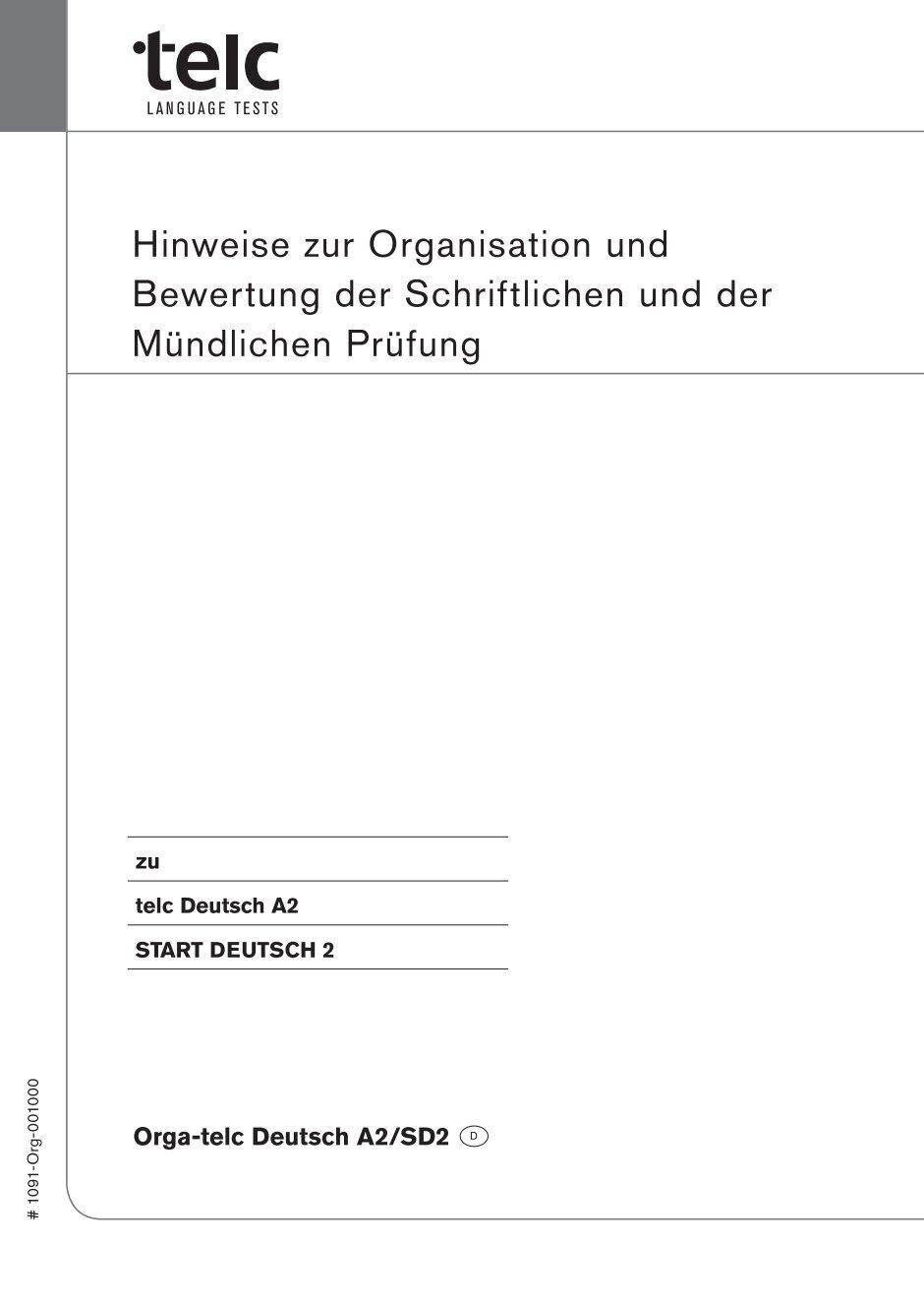 Start deutsch 1 test 2