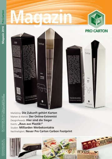 Pro Carton Magazine 2016 - DE