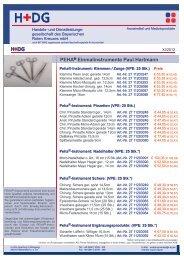 PEHA® Einmalinstrumente Paul Hartmann - H+DG