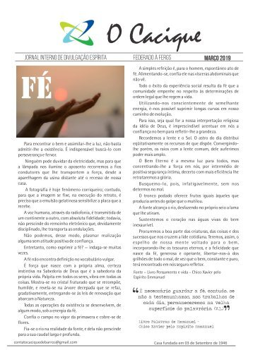 Jornal Cacique MARÇO 2019
