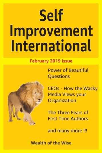 Self Improvement International - February 2019 Issue