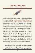 Self Improvement International - February 2019 Issue - Page 7