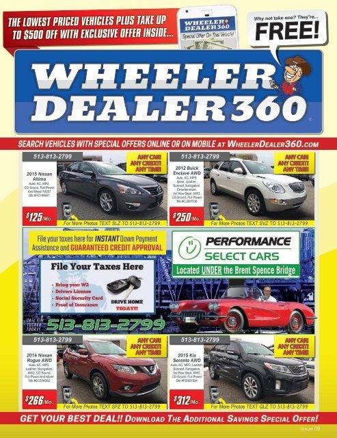 Wheeler Dealer 360 Issue 09, 2019
