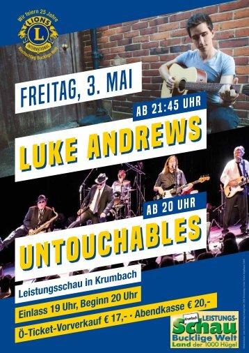 Lions Luke Andrews und Untouchables