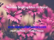 Women Seeking Men in Jaipur
