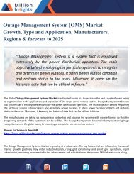 Outage Management System (OMS) Market Perspective, Comprehensive Analysis, Size, Share, Growth, Segment, Trends and Forecast 2025