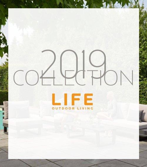 LIFE Gartenmöbel Kollektion 2019