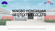 Wholesale Woven Geotextile Fabric