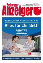 Schwyzer Anzeiger – Woche 9 – 1. März 2019