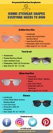 High-Quality Bamboo Sunglasses - Buy Now!