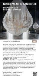 Neues Palais in Sanssouci  – Fotografien von Friederike von Rauch