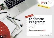 C² Karriereprogramm 2019