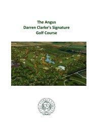 The Angus Darren Clarke's Signature Golf Course